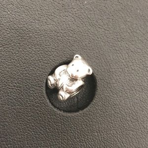 Authentic Pandora Silver Teddy Bear Charm